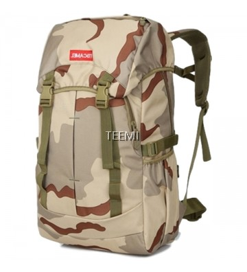 Camouflage 45L Hiking Backpack - Woodland